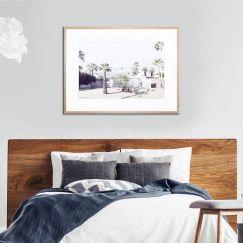 Palm Desert Framed Print by United Interiors