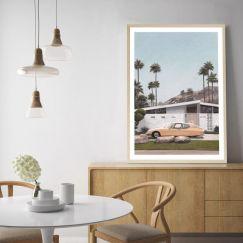 Palm Springs Doorway 2 Art Print   Various Sizes
