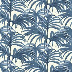 Palmeral - White & Blue
