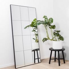 Panelled Leaner Mirror