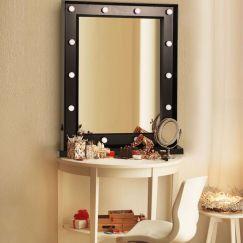 Paris Glam Hollywood Mirror | 14 LED Lights