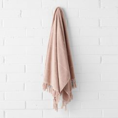 Paros Bath Sheet | Pink Clay by Aura Home