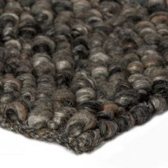 Pebbles Wool Rug | Onyx