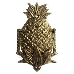 Petite Pineapple Door Knocker (Gold)