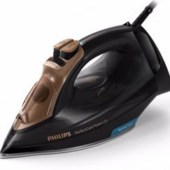 Philips  PerfectCare PowerLife Steam Iron | Black and Gold