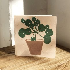 Plantable Cards on Handmade Recycled Paper l Lefse