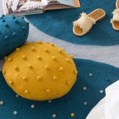 Pods Mini Cushion | Mustard