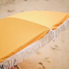 Premium Beach Umbrella - Saffron
