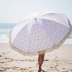 Premium Beach Umbrella - Terrazzo