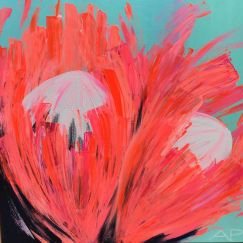 Protea Crushing #2 by Amanda Parsons | Limited Edition Print | Unframed