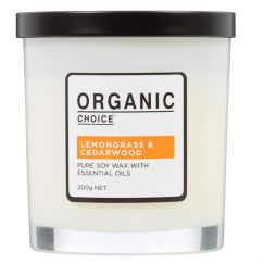 Pure Soy Candle | Lemongrass & Cedarwood | 200g