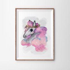 Rainbow Brumby Art Print   Various Sizes