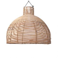 Rattan Dome Pendant | by Raw Decor
