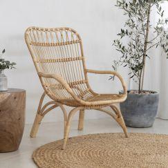 Rattan Relaxer Chair | By Au Fait