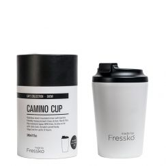 Reusable Cup | Camino White 340ml / 12oz