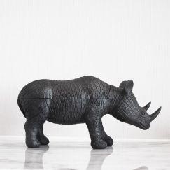 Rhino Secret Bowl | Black | White Moose