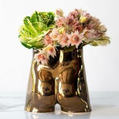 Rialheim Ceramics Tuckus Planter | Bronze