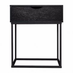 Riley Bedside Table | Black | Pre Order