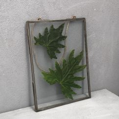 Rimi Pressed Glass Frame