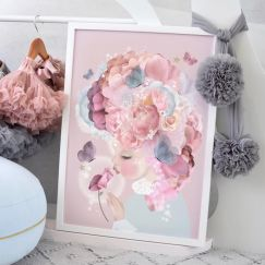 Rose Kisses Artwork | Limited Edition by Schmooks