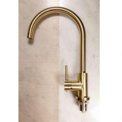 Round Tiger Bronze Kitchen Mixer