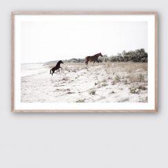 Run Free #1 | Framed Giclee Art Print