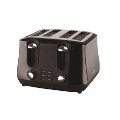 Russell Hobbs Siena 4 Slice Toaster   Black Diamonds