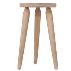 Rustic Stool | Mango Wood | HK Living