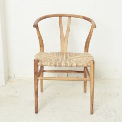 Sarin Dining Chair Natural l Custom Made
