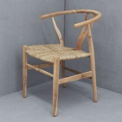 Sarin Dining Chair | Natural l Custom Made