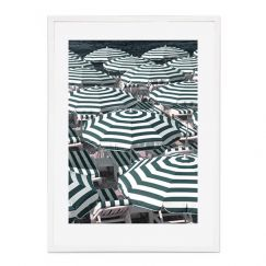 Seaside Stripes | Framed Print