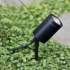 Sentinel 12V Spike Spot in Black | By Beacon Lighting
