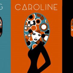 Set of 3 Custom Posters used by Charlotte and Josh | by Design by Mouse