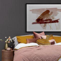 Sienna Sketch I   Framed Art Print
