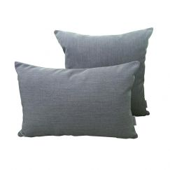 Silver Grey | Sunbrella Fade and Water Resistant Outdoor Cushion