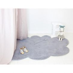 Silver Lining Cloud Rug | Cloudy Grey