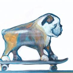 Skater | Art Print by Jane Stadermann