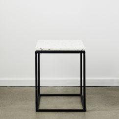 SLABS by Design   SIENA Terrazzo Side Table   Neutral
