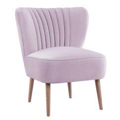 Slipper Chair I Velvet I Lilac I Darcy & Duke