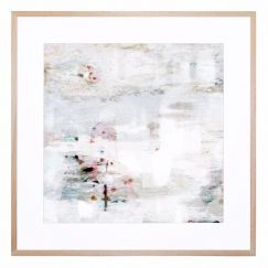 Soft Ghost | Framed Print by United Interiors & Alisa and Lysandra
