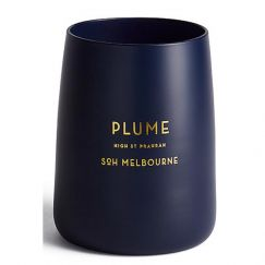 SOH Navy Candle   Plume