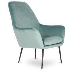 Soho Lounge Armchair | Green Velvet
