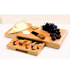 Stanley Rogers 5 piece Bamboo Cheese Set
