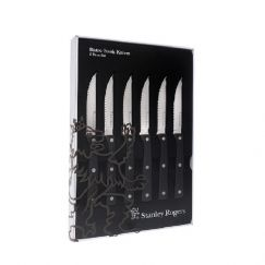 Stanley Rogers Bistro Steak Knives | 6 Set