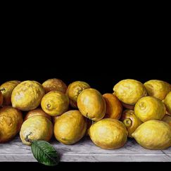Still Life with Lemons | Giclee Art Print by Chris Beaumont