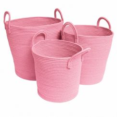 Storage Baskets | Pink - Large