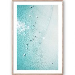 Summer Float #2 | Framed Giclee Fine Art Print by Wall Style