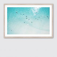 Summer Float | Framed Giclee Fine Art Print by Wall Style
