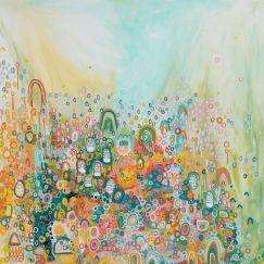 Sun Goes Down | 1.4m x 1.4m | Unframed Canvas Print
