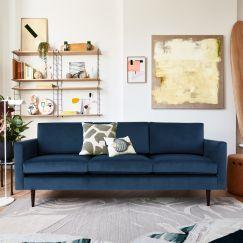 Swyft | Model 01 Velvet 3 Seater Sofa | Teal
